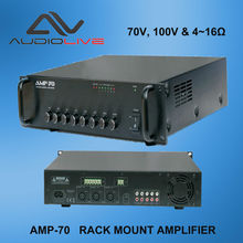 audio Rackmount power amplifier manufacture AMP-70