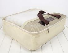 Custom durable barato impreso pvc y no tejido funda de colchón bolsa de proveedores China
