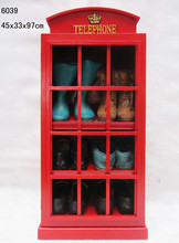 2015 new home furniture, wooden antique shoe cabinet, shoe rack