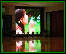 P7.62 standard cabinet led display for solid installation