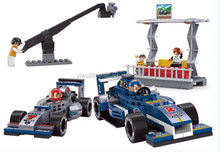 Formula Car II - F1 Racing Department - 300 Pieces Building Blocks Compatible with Brand toys