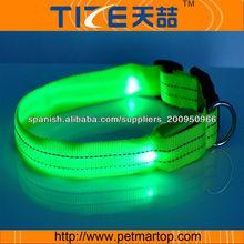 collares para mascotas reflectantes TZ-PET2110F linea de accesorios para perros