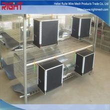 easy clean aluminum rabbit cage