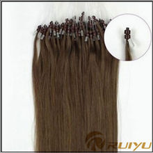 Overseas on sale best vendor cheap remy micro bead hair extension