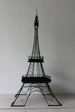 Famous metal eiffel tower sculpture for home decoration