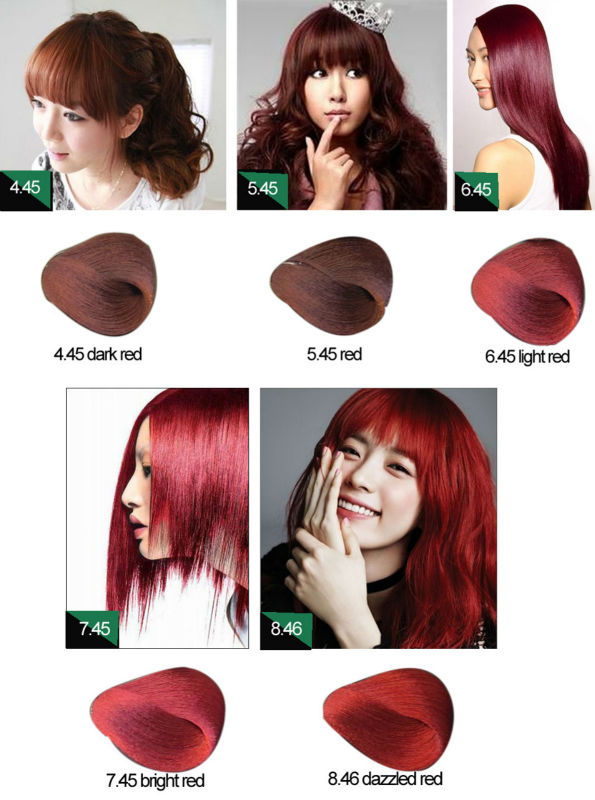 Professional Permanent Halal Hair Color Brand Names View