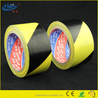 Striped safety warning marking tape