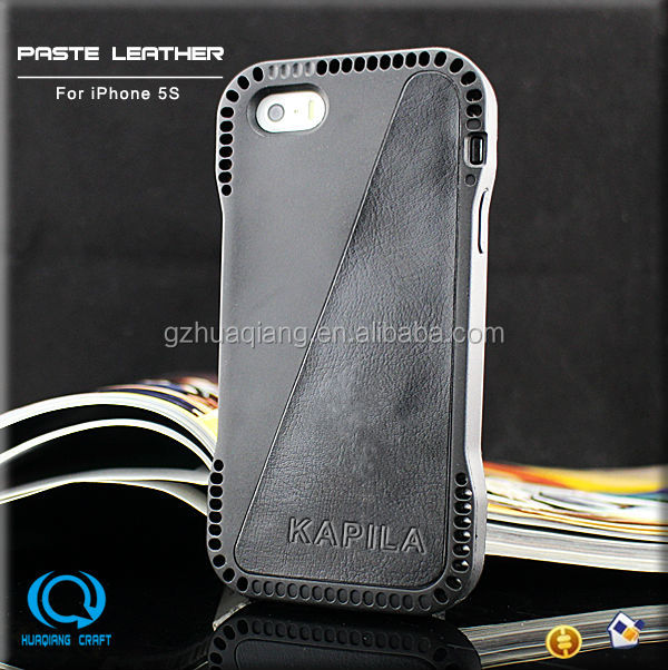 branded products shockproof TPU leather case for iPhone 5/5s