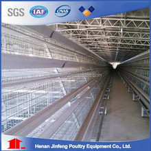 Automatic chicken raising equipment galvanized layer chicken cages for poultry farm