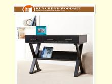 china supplier dark surface wooden furniture laptop desk office /home desk