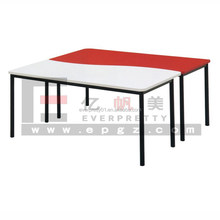 Cheap High Quaity School Library Table, Student Library Reading Table for Kindergarten&Nursery School Student