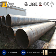 Q195-Q235 spiral steel pipe with Abundant stock and prompt delivery