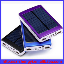 Mobile phone solar power PB-S6 charger phone battery external