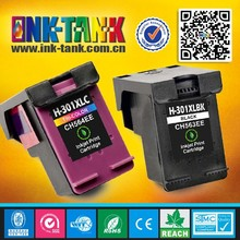 High yield compatible ink cartridge for hp 301 use in Deskjet printer