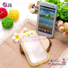 Hot sale mobile phone tpu+PC case for samsung s3 i9300