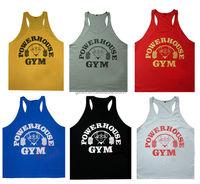 China Factory Custom Stringer Gym Tank Top Vest