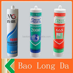 silicone sealant / Quick Curing Acetic Silicone Sealant / High Performance Acetoxy acetic silicone sealant General