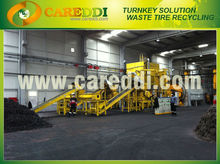 Professional Waste tire recycling machine