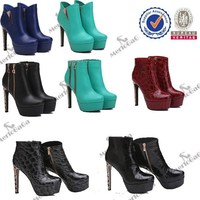 factory direct price cheap best quality women high heel rubber latex boots