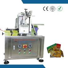 Removable and rational design puff pastry box hot melt glue machine