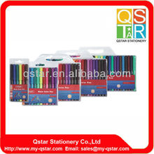 6 colors water color pen