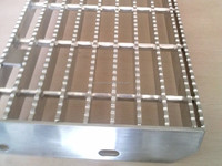 metal grating out door staircase/stair steps/stairs