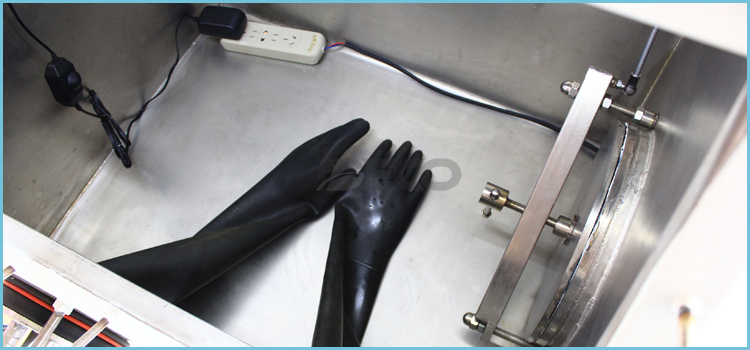 Lab Vacuum Glove Box with 2 Antechambers