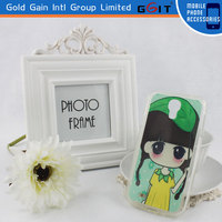 Generic Clear Plain TPU Skin Case Cover For Samsung S4 i9500 TPU Flip Cover