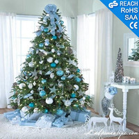 Indoor artificial Christmas tree with kinds of decoration,Christmas decoration