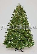 artificial decorative lighted tabletop metal christmas tree