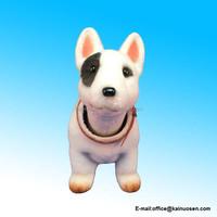 Bobbing Head Dog - Bobble Head Bull Terrier