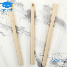 Eco-friendly paper ballpen factory/ promotional ball pen / square paper pen for gift