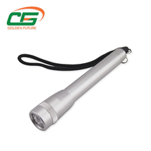 Aluminum AA battery led flashlight torch for field operation