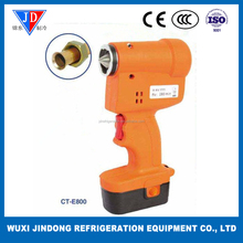 Eccentric cone flaring tool CT-E800, Electric cordless flaring tool for copper pipe