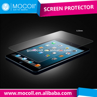2015 new arrival manufacturer 9H 0.33mm ultra clear Anti-Scratch laptop tempered glass screen protector for iPad mini wholesale