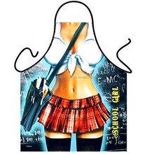 student sex apron/China factory/creative whimsy apron design/can be customized/Creative design BBQ apron / party apron