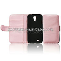 Stylish hot selling wallet leather case for samsung galaxy s4 active i9295