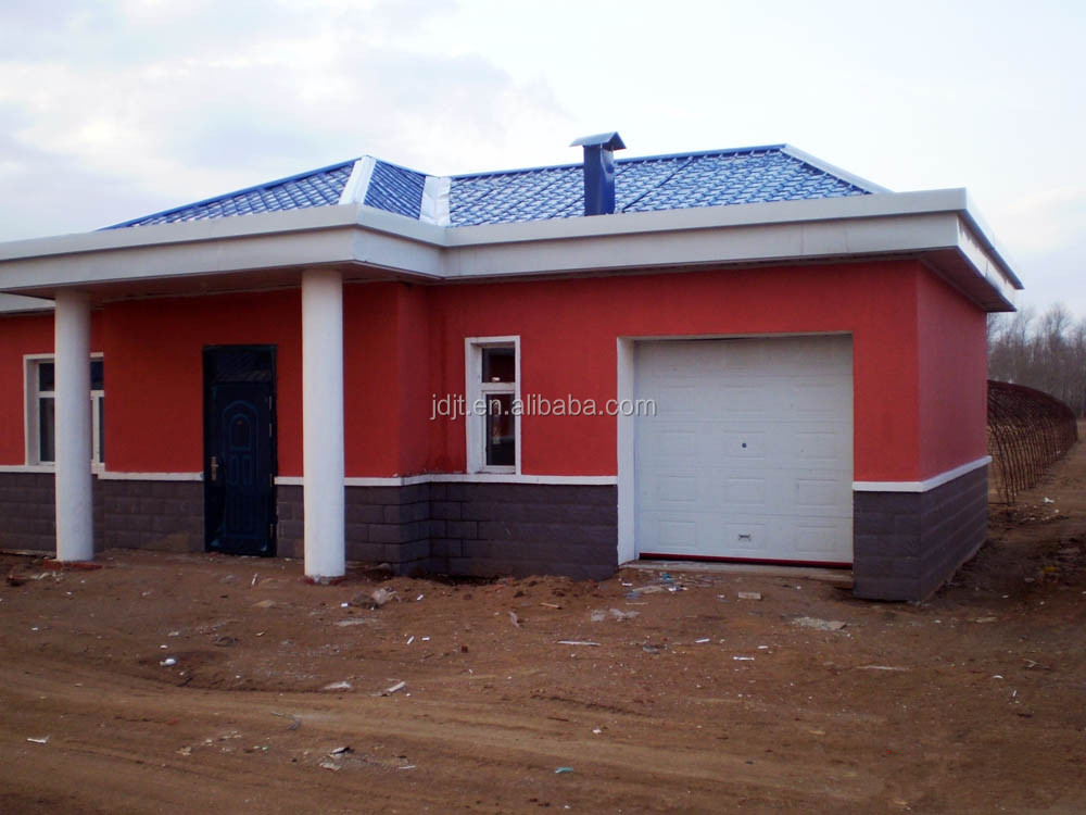 Low cost prefab light steel frame steel structure house for Prefab building costs