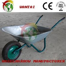 galvanized decorative wheelbarrow/wheel barrow building construction galvanized decorative