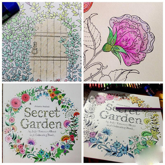 Popular Secret Garden Coloring Book For Fun Buy