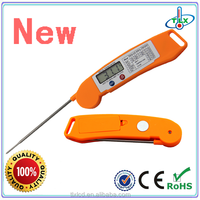 Manufacturer digital bbq meat folding thermometer, food thermometer needle,instant read meat thermometers