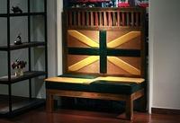 Modern Fashion Simple Design Hot Sale Restaurant Sofa Bench Wood Bench Sofa