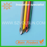 Soft Flexible Silicone Rubber Fiberglass Sleeving