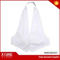 Fashion New Style Mens formal white velcro vest Waistcoat