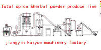 SUS grade turmeric, red chili, corriander, nutmeg spice grinding machine