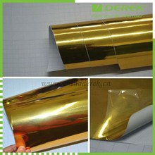 Bubble free chrome gold vinyl/Car Chrome Film For Wrapping Full Body