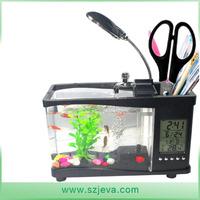 2015 Best seller mini acrylic fish tank clear plastic aquarium fish breeder