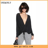 Model blouse for middle aged women uniform guangzhou factory