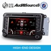 New design double din android 4.4.4 gps car dvd with GPS/FM/TV/AV/USB /SD/DVD for universal Car