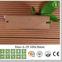high cost-effective preservative WPC outdoor wood plastic deck flooring